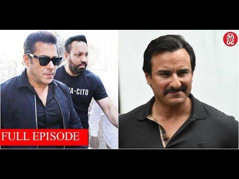 Salman's 'Race 3' Shoot Gets Cancelled After Death Threats | Saif Keen On Watching 'Padmavat'
