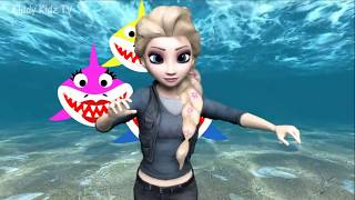 Baby Shark Song and Dance Frozen Animal Songs