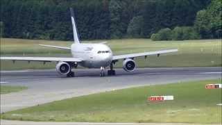 Iran Air A310 @ Hamburg Airport (old camera)