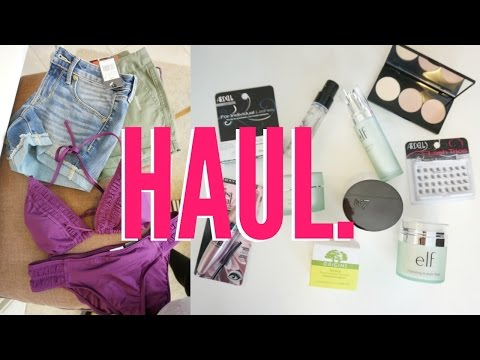 Beauty & Fashion HAUL! - Target & Sephora | SPRING 2017