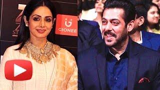 Salman Khan Smashing Speech On Sridevi | Mom First Look