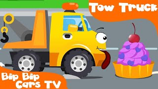 The Tow Truck with Police Car and New Friends Bip Bip Cars & Trucks Cartoon for children