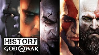 History/Evolution of God Of War (2005-2017)
