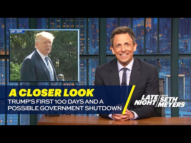 Trump's First 100 Days and a Possible Government Shutdown: A Closer Look
