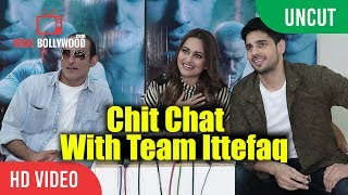 Ittefaq Movie Special Interview | Sidharth Malhotra, Sonakshi Sinha, Akshaye Khanna