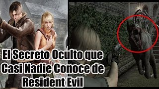 El Secreto Oculto que Casi Nadie Conoce de Resident Evil 4