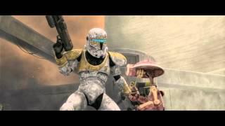 Star Wars: The Clone Wars - Clone Commando Gregor vs. Battle Droids [1080p]