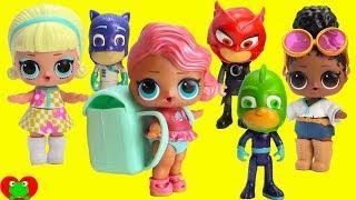 PJ Masks Heroes Vs. Villains LOL Surprise Dolls Limited Edition Treasure Toy Video