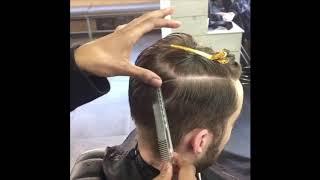 Modern Men's Haircut Tutorial