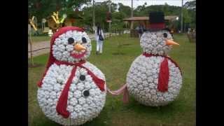 Amazing and Unusual DIY Snowmen Christmas Decoration Ideas