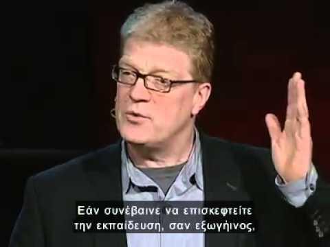Sir Ken Robinson - School kills creativity Gr.Subs