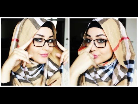 Tutoriel Hijab avec lunettes Hijab with glasses Tutorial