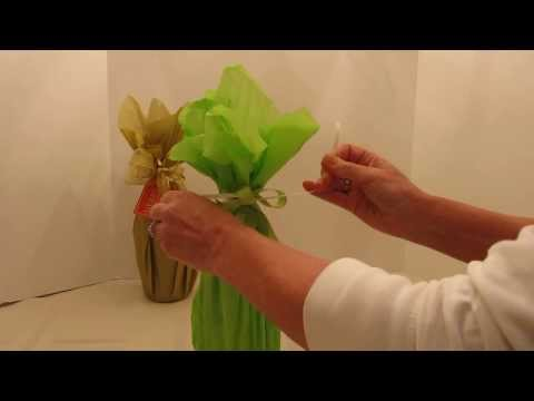 How To Gift Wrap A Wine Bottle