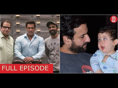 Salman Khan Shoots His First Song For 'Race 3' | Saif Is Open About Taimur Doing An Ad Film