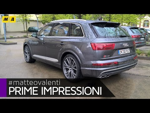 Audi SQ7 V8 Prime impressioni