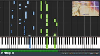 Naruto: Shippuuden Opening 16 - Silhouette (Piano Synthesia)