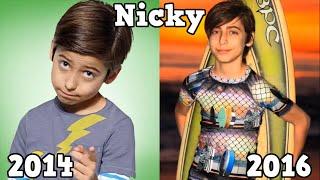 Nicky, Ricky, Dicky & Dawn Antes y Después 2016
