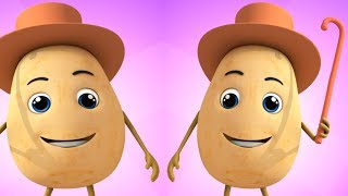 One Potato Two Potatoes ! 😋 Songs for Kids and Babies - Nursery Rhymes Videos Learning Numbers