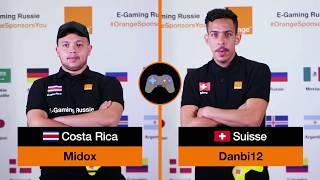 E-gaming Russie: Switzerland VS Costa Rica