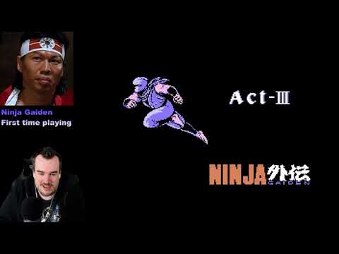 Xxx Mp4 Barb Plays Ninja Gaiden NES For The First Time Part 1 3gp Sex