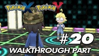 Pokemon X & Y - Walkthrough Part 20