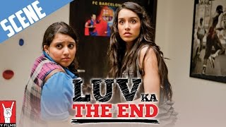 Scene: Luv Ka The End | Rhea Sees Luv Naked | Shraddha Kapoor | Taaha Shah