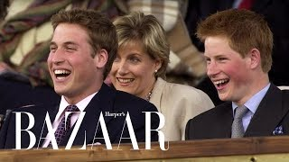 Prince Harry & Prince WIlliam's Cutest Brother Moments | Harper