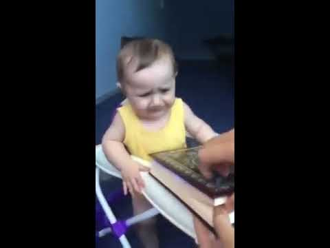 Even a Baby recognize that the Quran is the word of God Watch