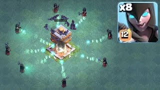 NEW UPDATE GEM SPREE | Clash Of Clans | LVL 12 MAXED WITCHES!!