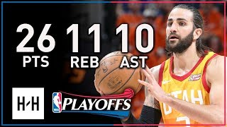 Ricky Rubio Triple-Double Full Game 3 Highlights vs Thunder 2018 Playoffs - 26 Pts, 11 Reb, 10 Ast