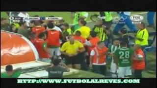 Atlético Nacional 3 1 Rosario Central (Múnera Eastman) 4° de Final (Vuelta) Copa Libertado