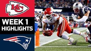 Chiefs vs. Patriots | NFL Week 1 Game Highlights
