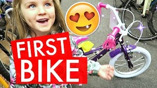 SHOPPiNG FOR HER FiRST BiKE 😍🚲