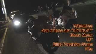 1100whp Supra vs. Turbo Hayabusa & 100-shot Hayabusa