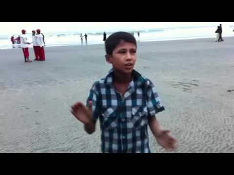 10-year old boy sings Bangla band song