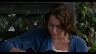 Miley Cyrus Butterfly Fly Away - Clip
