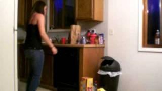 Drunk Girl Dance Funny