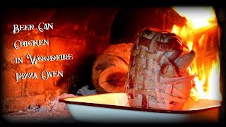 Beer Can Chicken - Recipe Wood fired Pizza Oven - International Cuisines