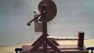 Da Vinci Cam Wooden Model