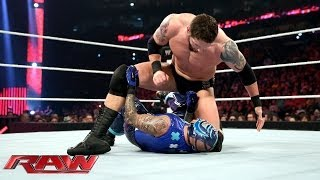 Rey Mysterio vs. Bad News Barrett: Raw, April 7, 2014