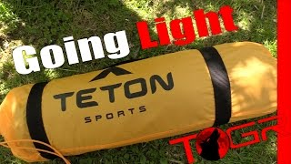 Going Light with the Teton Sports Mountain Ultra 1 Tent
