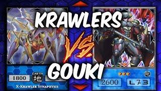 KRAWLERS vs GOUKI (Yu-gi-Oh Competitive Deck Duel)