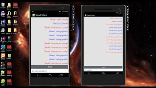 Xamarin Android Tutorial   75   SignalR Chat Client Part 2