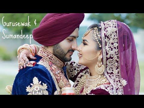 Gurusewak & Suman | Sikh Wedding Highlights | 2017