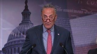 Schumer slams health care bill after CBO report