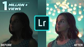 Lightroom CC Mobile Tutorial : Edit your portrait FAST 🚀 #1