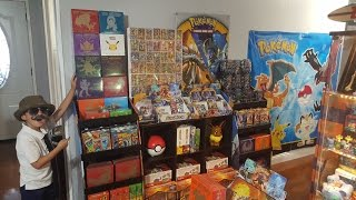 The BIGGEST HAUL EVER! CARLS NEW MASSIVE EPIC RARE POKEMON SHIPMENT!! Store Expansion and Tour!!