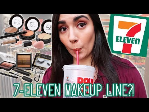 I Tried A Full Face Of 7 Eleven Makeup