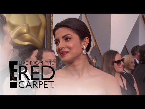 Priyanka Chopra Feels Pressure at Oscars 2016 | Live from the Red Carpet | E! News
