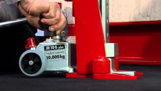 JUNG Lifting Jacks & Machinery Skates - JH 10 Gplus